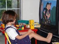 Bedroom media, sedentary time and screen-time in children: a longitudinal analysis